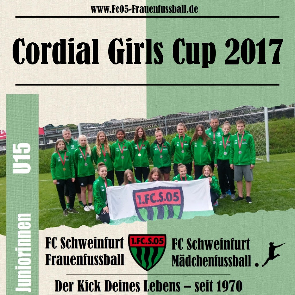 Cordial Girls Cup 2017