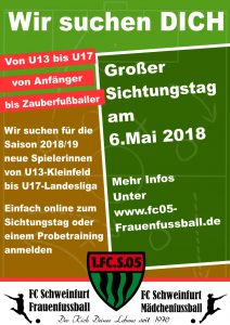 Sichtungstag Juniorinnen @ Willy-Sachs-Stadion